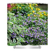 Flora 7 Shower Curtain