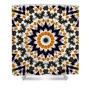 Flora Kaleidoscope Shower Curtain