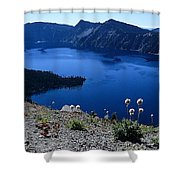 Flora Of Crater Lake Shower Curtain