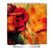 Floral Art Xxi Shower Curtain