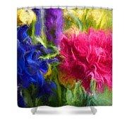 Floral Art Xxxxvi Shower Curtain