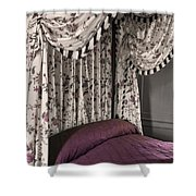 Floral Canopy Shower Curtain