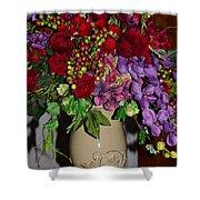 Floral Decor Shower Curtain