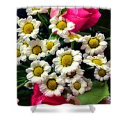 Floral Decoration Shower Curtain