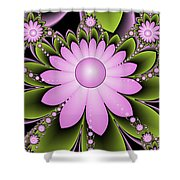 Floral Decorations Shower Curtain