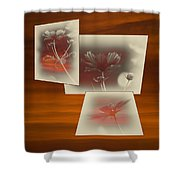 Floral Early Garden Light 02 Shower Curtain