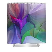 Floral Expressions 022615 Shower Curtain