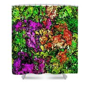 Floral Fantasy 042714 Shower Curtain