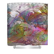 Floral Fantasy - Square Version Shower Curtain