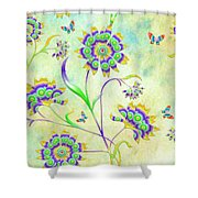 Floral Flirty And Fun  Shower Curtain