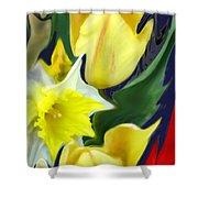 Floral Flow Shower Curtain