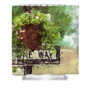 Floral - Flowers - One Way Shower Curtain