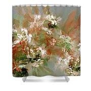 Floral Fractal 030713 Shower Curtain