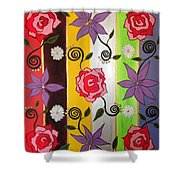 Floral Frenzy Shower Curtain