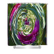 Floral Illusion 1 Shower Curtain