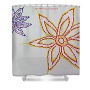 Floral Joy  Shower Curtain