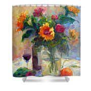 Floral Paintings Fp18 Shower Curtain