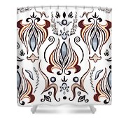 Floral Pattern I Shower Curtain