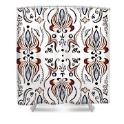Floral Pattern IIi Shower Curtain
