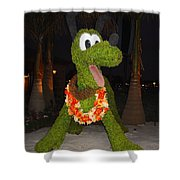 Floral Pluto Shower Curtain
