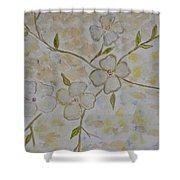 Floral Stem Shower Curtain