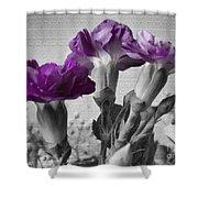 Floral Texture  Shower Curtain