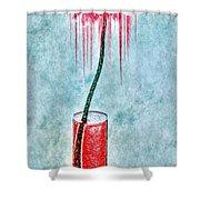 Floral - The Dancing Gerbera Shower Curtain