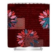 Floralis - 833 Shower Curtain