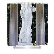 Florence Brokaw Satterwhite Memorial II Cave Hill Cemetery Louisvil Shower Curtain