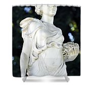 Florence Brokaw Satterwhite Memorial IIi Cave Hill Cemetery Shower Curtain