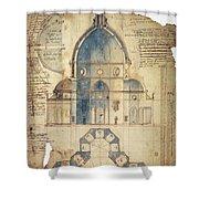 Florence: Brunelleschi Shower Curtain