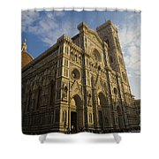 Florence Cathedral  Shower Curtain