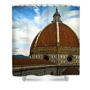 Florence Duomo Italy Shower Curtain