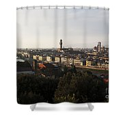 Florence Form The Piazza Michalengelo Shower Curtain
