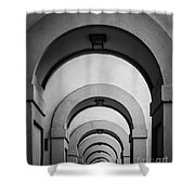 Florence Hallway Shower Curtain