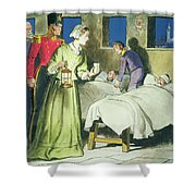 Florence Nightingale From Peeps Shower Curtain by Trelleek