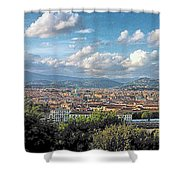 Florence Panorama Shower Curtain