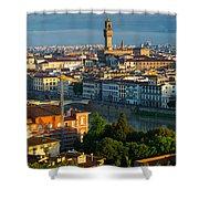 Florence Panorama Shower Curtain