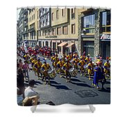 Florence Parade Shower Curtain