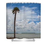 Florida Bay 6943 Shower Curtain