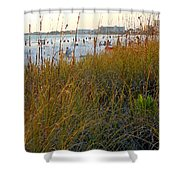 Fabulous Siesta Key  Shower Curtain