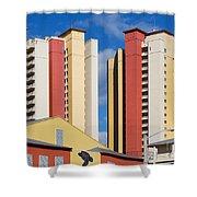 Florida Condos Shower Curtain