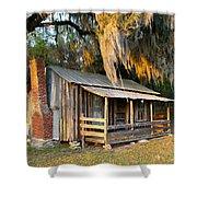 Florida Cracker Cabin Shower Curtain