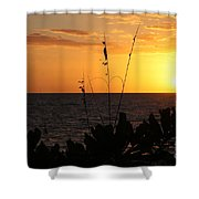 Florida Delight Shower Curtain