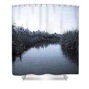 Florida Everglades Shower Curtain