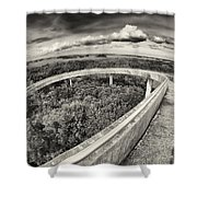 Florida Everglades Shower Curtain