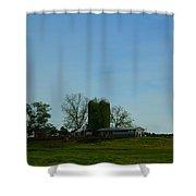 Florida Farmlands Shower Curtain
