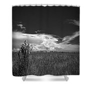 Florida Flat Land Shower Curtain