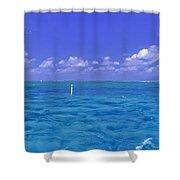 Florida Keys Marathon Intercoastal Waterway 3 Shower Curtain