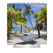 Florida Keys Wellness Shower Curtain